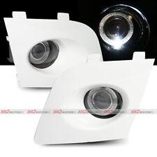 White Fog Lamp White Halo LED Bumper Lights fits 06 07 Subaru Impreza WRX STI