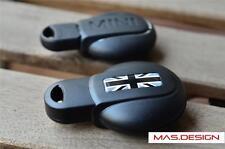 Black Union Jack style Protective key case for MINI COOPER S JCW F54 F56 F55 F60