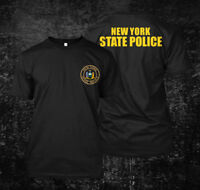New York State Police USA - Custom Men's T-Shirt Tee