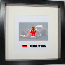 Formula one F1 Ferrari, Red Bull, McLaren Lego 3D frame customise, more teams
