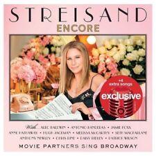 Barbra Streisand Encore CD Target Exclusive Bonus Songs NEW