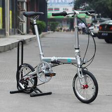 "Banian Alloy Folding Bike 16"" Minivelo Mini velo Bike Foldable Biicycle 3 Speed"