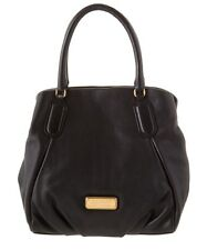 Marc By Marc Jacobs New Q Fran Leather Black Handbag Tote New $448