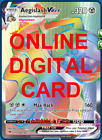 1X Aegislash VMAX 190/185 Vivid Voltage Pokemon Online Digital Card