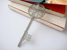 Key Stainless Steel Filigree High Quality Bookmark Korea Favour Gift Wedding NEW