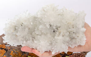 Quartz crystals cluster with Sphalerite and Pyrite 2.99 LBS #113T - BULGARIA