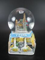 Wien Stephansdom  Schneekugel Glanz Sockel Snowglobe 12 cm,Souvenir Austria