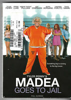 Tyler Perry's Madea Goes to Jail (DVD, 2009, Full Frame) Brand New Sealed