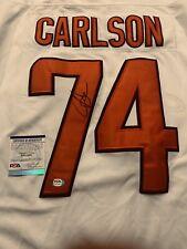 John Carlson Signed Washington Capitals Jersey PSA/DNA Size 54