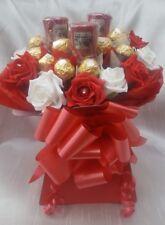 Ferrero Rocher Red & White Chocolate Bouquet & Yankee Candles Gift hamper