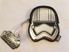 BNWT Loungefly x Star Wars: The Force Awakens Captain Phasma Embossed Coin Bag