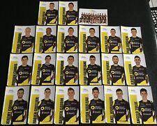 21 Cartes Postales Equipe Cycliste DIRECT ENERGIE Tour de France 2018 Cyclisme