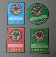 TOM PETTY AND THE HEARTBREAKERS GENUINE LOCAL CREW CLOTH BACKSTAGE PASSES 2008