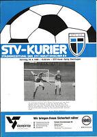 Verbandsliga Westfalen 1989/90 STV Horst-Emscher - SpVg. Steinhagen, 29.04.1990