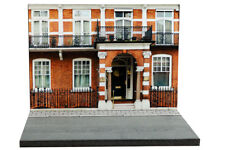 Diorama Immeuble londonien / London bldg - 1/76ème (OO scale) - #OO-2-A-A-001