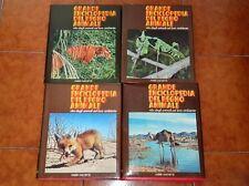 FREDERICK GRANDE ENCICLOPEDIA DEL REGNO ANIMALE COMPLETO 4 VOLUMI FABBRI 1975