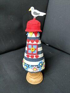 John Lewis Pin Cushion Lighthouse Seagull Sewing Craft Haberdashery