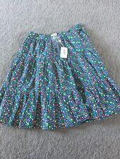 Paul Smith Navy Flower Design Skirt Xl