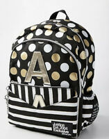 JUSTICE NWT FULL SIZE BACKPACK LETTER A