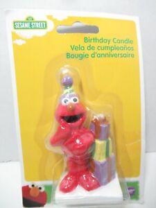 Elmo Sesame Street birthday party candle figure