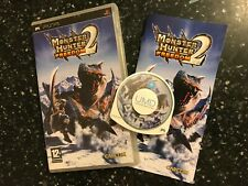 SONY PSP PORTABLE PLAYSTATION GAME MONSTER HUNTER FREEDOM 2 +box instr' complete