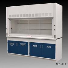 8 Laboratory Bench Fume Hood With Flammable Amp Acid Storage Cabinets E1 785
