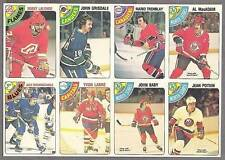 1978-79 OPC Proof 8-Panel, Lalond,Tremblay, Jean Potvin