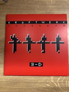 Kraftwerk  3 - D 12345678 Vinylalbum 2017 Neuwertig!!!