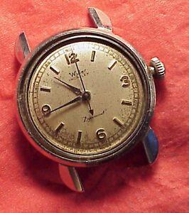 Vintage 31MM WYLER AUTOMATIC E1256 DYNAWIND TICKaBIT STAINLESS WRISTWATCH REPAIR