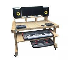 More details for recording studio multimedia desk building plans only.