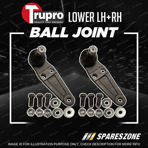Pair Trupro Lower Ball Joints for Volvo 240 260 Series 242 244 245 262 264 265