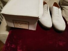 Nos New Old Stock White Buck Shoes 11 E 11E Canada Nubuck