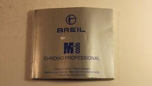 BREIL - LIBRETTO CHRONO PROFESSIONAL - USATO -4 +