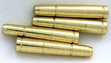 TWO GOLD BULLET BOLO BOLA TIPS CF316