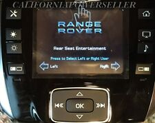 2013 2014 Land Rover Range Rover Rear Entertainment Remote Control Factory Oem