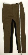 Haider Ackermann Men Pants Size 36 New 100% Wool Brown