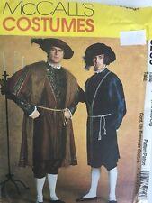 McCalls 3286 Tudor King Henry S M Large Renaissance Costume Pattern Uncut Men