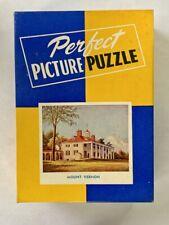 PICTURE PERFECT Jig Saw Puzzle - MOUNT VERNON - Vintage Box 275 Pieces