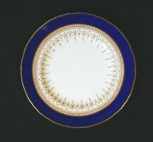 Beautiful Royal Worcester Regency Blue Bread Plate