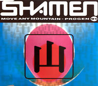 The Shamen Maxi CD Move Any Mountain - Progen (91) - France (VG+/VG+)