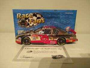 KEVIN HARVICK 2001 ACTION #29 CHROME LOONEY TUNES/GM GOODWRENCH CHEVY 1/24 XRARE