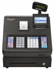 Sharp XE Series XE-A207 Electronic Cash Register 2500 LookUps 99 Dept 25 Clerk