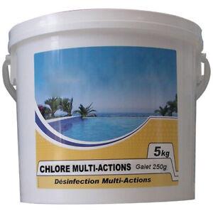 chlore lent multi-fonctions galet 250g 5kg - nmp