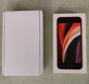 Boîte IPhone SE 2020 Rouge 2nd Génération 64 GB - Boite Vide nouvelle Version FR