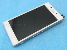 Original Sony Xperia M2 D2303 Display LCD Touchscreen+Rahmen Weiss