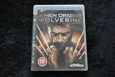 X-Men Origins Wolverine Playstation 3 PS3