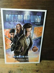 Special Edition # 31 Volume 5 The ELEVENTH DOCTOR Dr Who Panini MAGAZINE British