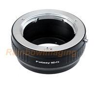 Minolta MD Mount Lens to Fujifilm Fuji X-A10 X-T2 X-T20 X-T30 X-H1 X-T4 Adapter