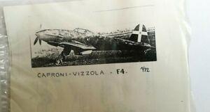 CAPRONI VIZZOLA F4 maquette Dujin avion résine 1/72