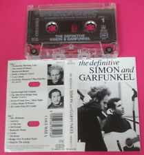 MC SIMON AND GARFUNKEL The definitive 1991 holland COLUMBIA no cd lp vhs dvd